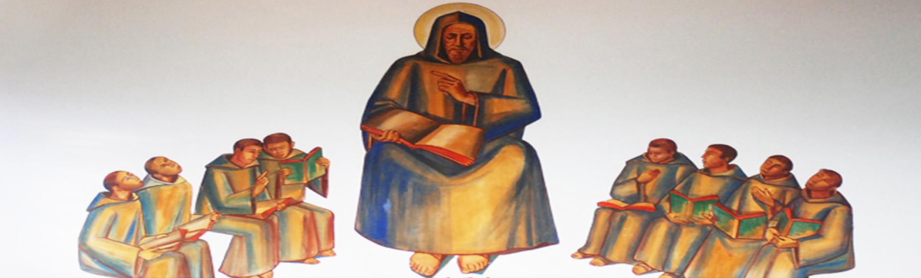 Pintura de São Bento - Capela do Colégio